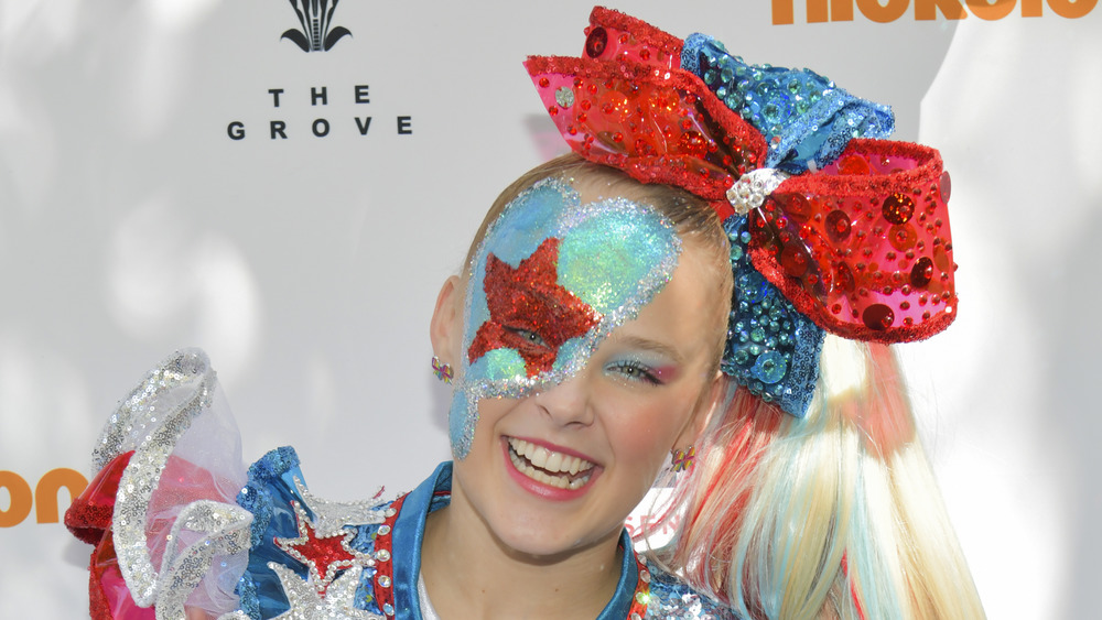 JoJo Siwa on the red carpet
