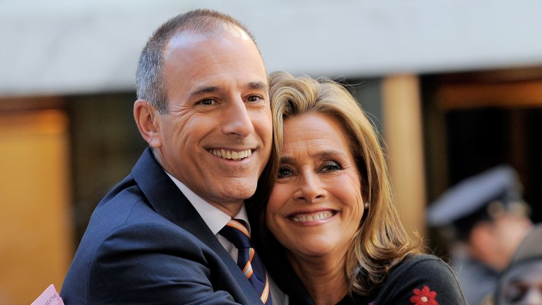 Matt Lauer and Meredith Vieira