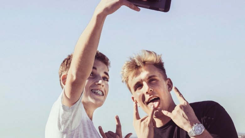 Selfie Kid and Jake Paul