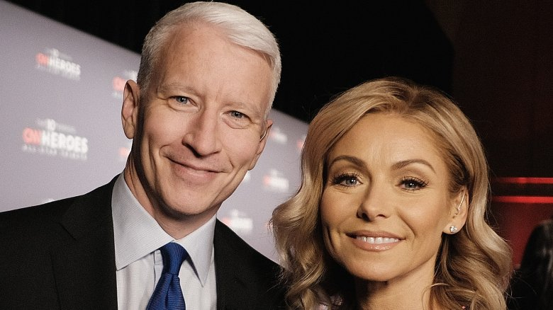 Anderson Cooper and Kelly Ripa