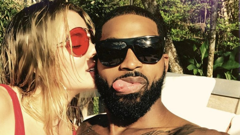 Tristan Thompson Leaves, Khloe Kardashian Gets Police Protection Outside 'Quiet' Hillcrest Hospital