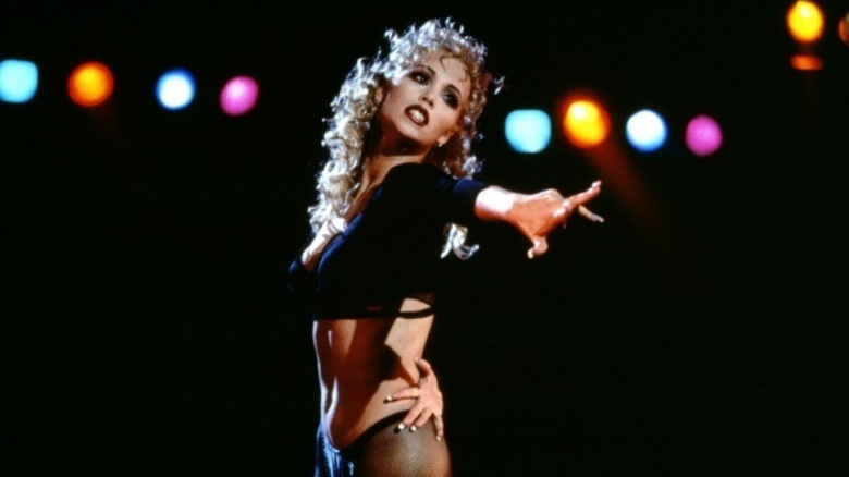 Why hollywood wont cast elizabeth berkley anymore in order to decimate her good girl image of excitable feminist class president jesse spano berkley starred in showgirls 1995 voltagebd Image collections