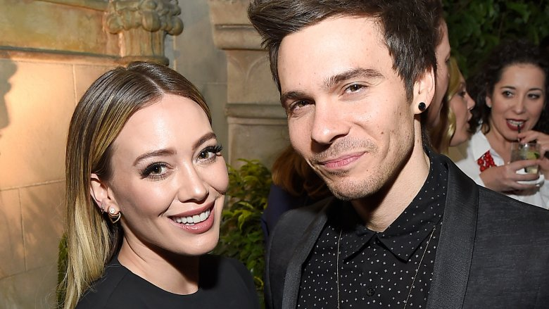 Hilary Duff Back with Old BF ... The PDA Proves It