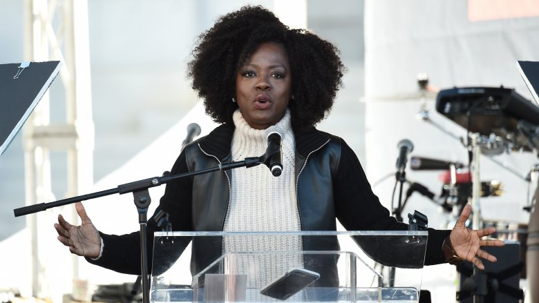 Viola Davis, Natalie Portman Inspire at LA March