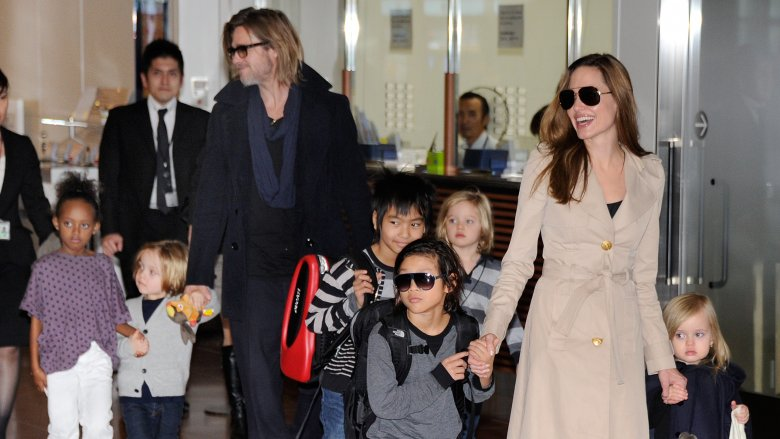 Angelina Jolie slams Brad Pitt for child support