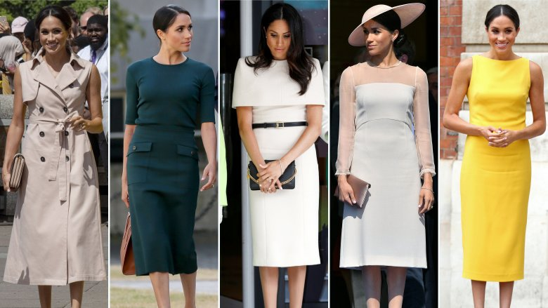What do feminist gestures Meghan Markle