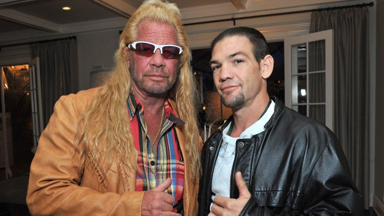 Dog the Bounty Hunter Pays Tribute to Beth Chapman at Colorado Service