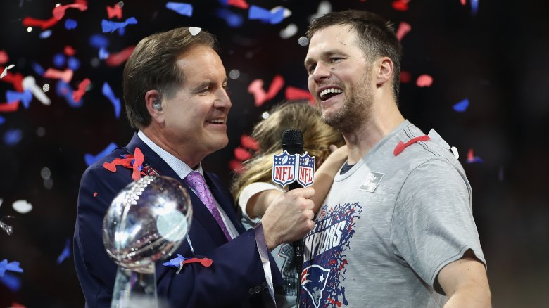 Jim Nantz & Tom Brady