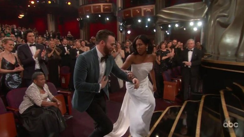Chris Evans & Regina King