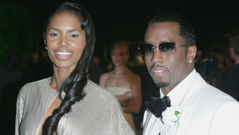 "Sean ""Diddy"" Combs and Kim Porter"
