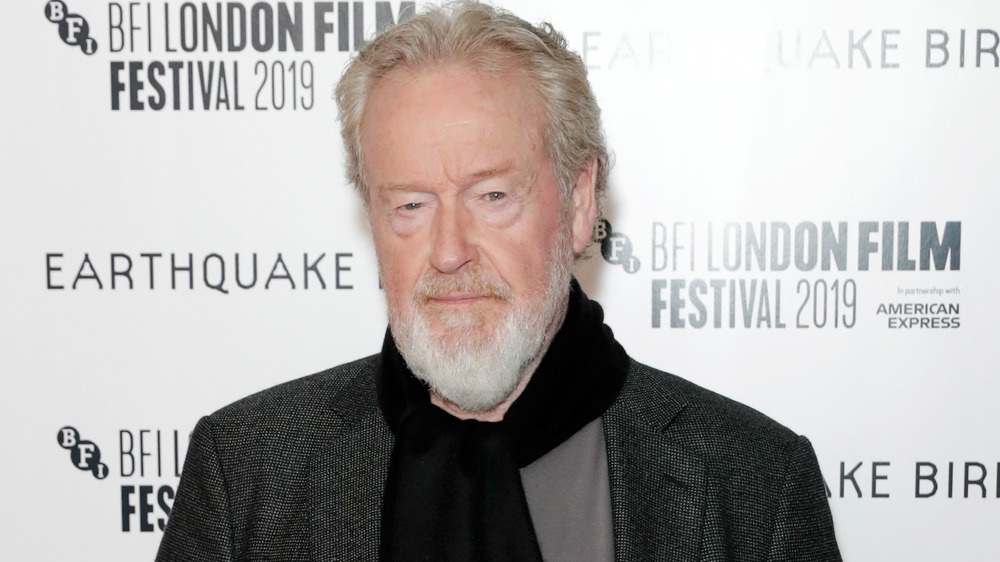Ridley Scott at the Earthquake Bird premiere