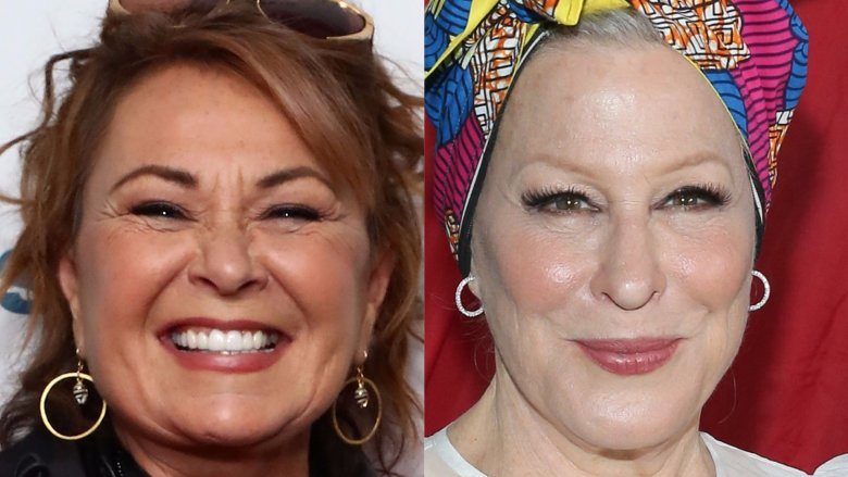 Roseanne Barr and Bette Midler