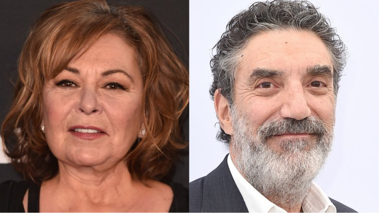 Roseanne Barr and ​Chuck Lorre