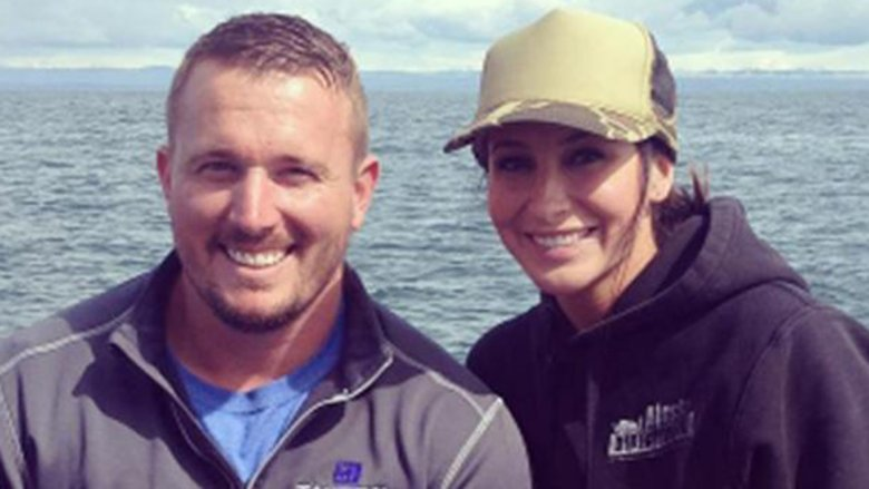 Dakota Meyer and Bristol Palin on a boat
