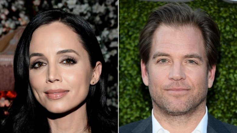 Eliza Dushku and Michael Weatherly