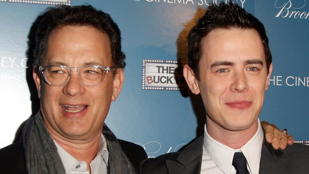 Tom Hanks, Colin Hanks