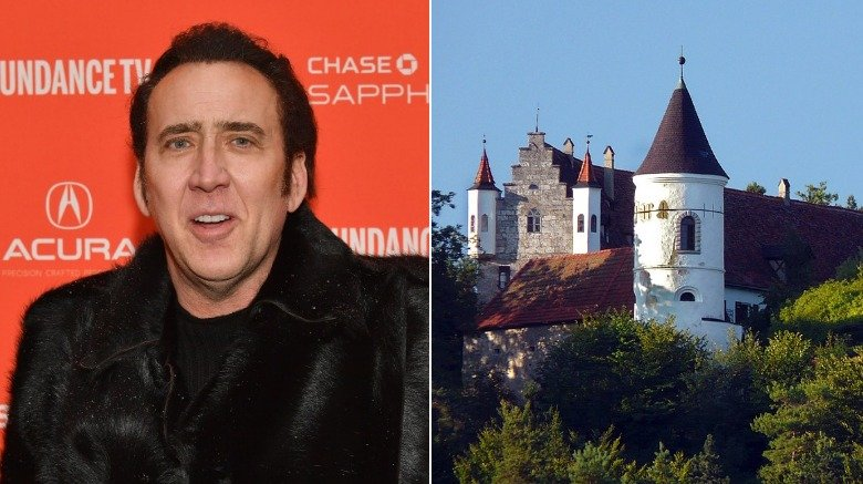 Nicolas Cage and his Bavarian Castle