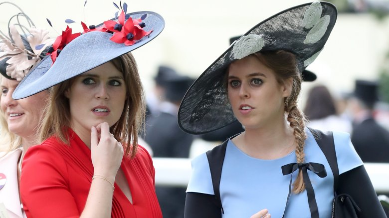 Prince Eugenie and Princess Beatrice