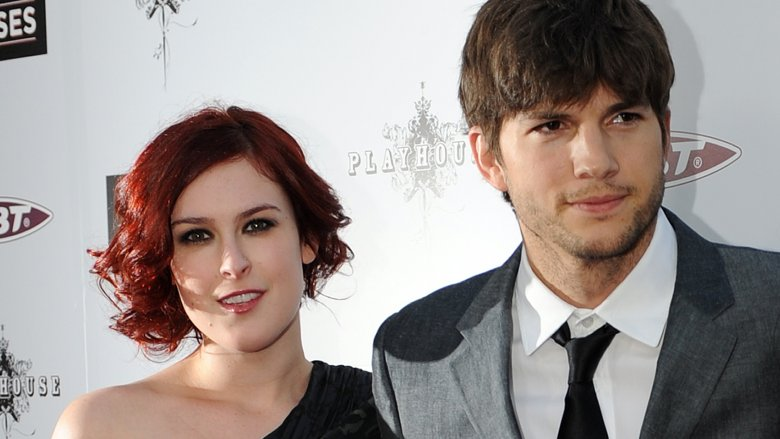 Rumer Willis and Ashton Kutcher