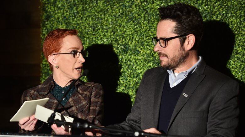 Kathy Griffin and JJ Abrams