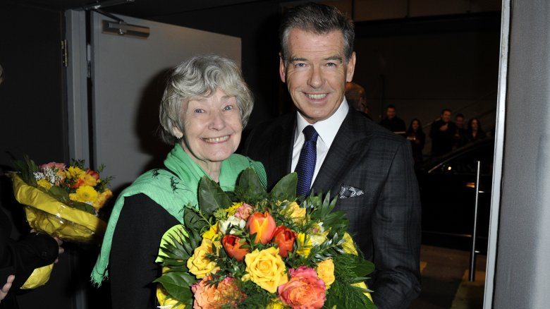 Pierce Brosnan with his mother Mary Carmichael