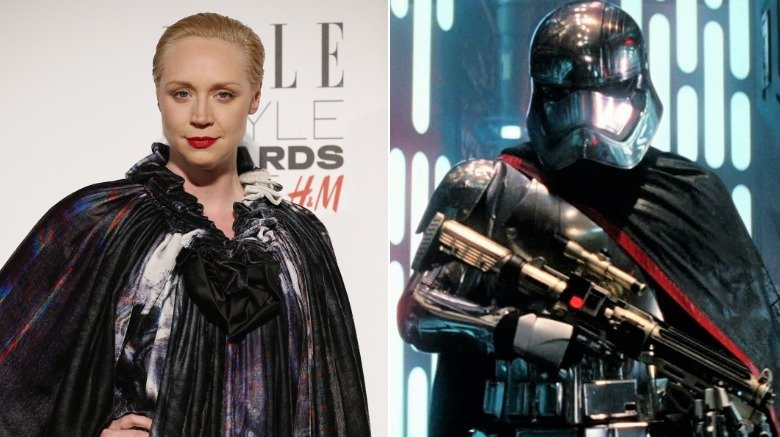 Gwendoline Christie in Star Wars