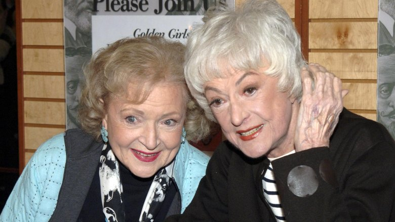 e00bb013 Betty White, Bea Arthur Getty Images. It's easy to watch The Golden Girls  ...