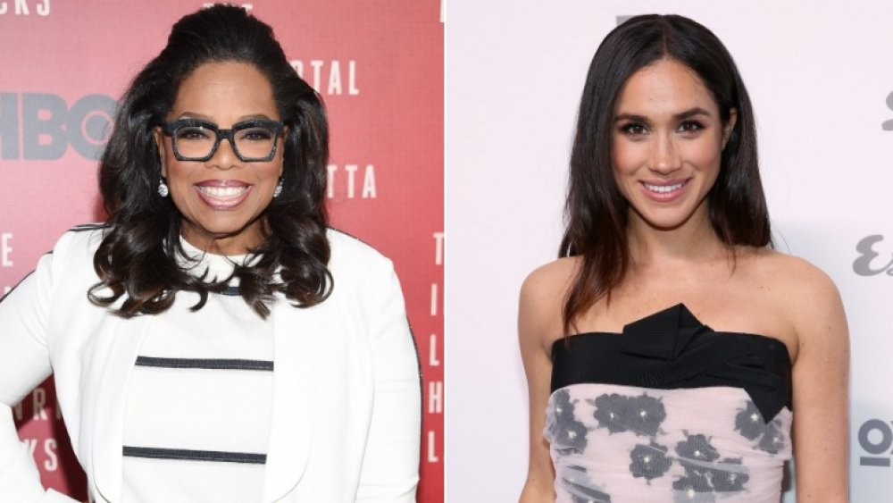 Oprah Winfrey and Meghan Markle