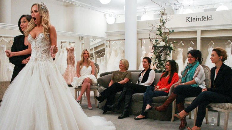 Afbeeldingsresultaat voor say yes to the dress kleinfeld reaction