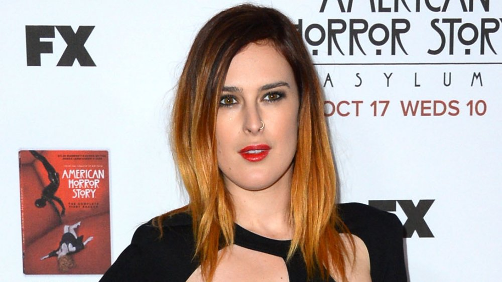 Rumer Willis at the American Horror Story: Asylum premier