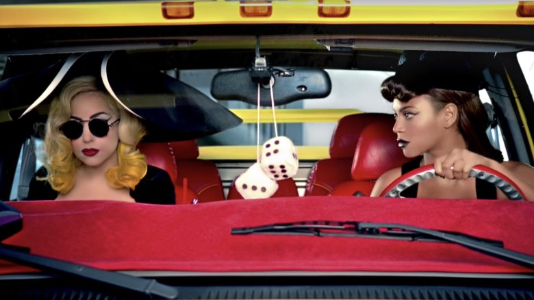 """Lady Gaga and Beyonce in """"Telephone"""""""