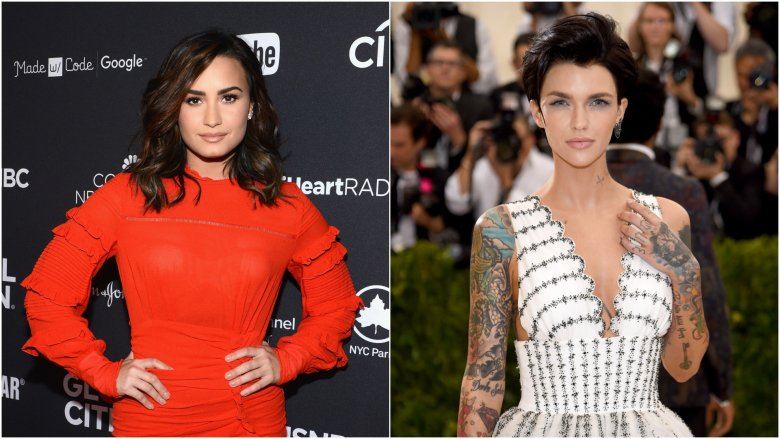 Demi Lovato and Ruby Rose