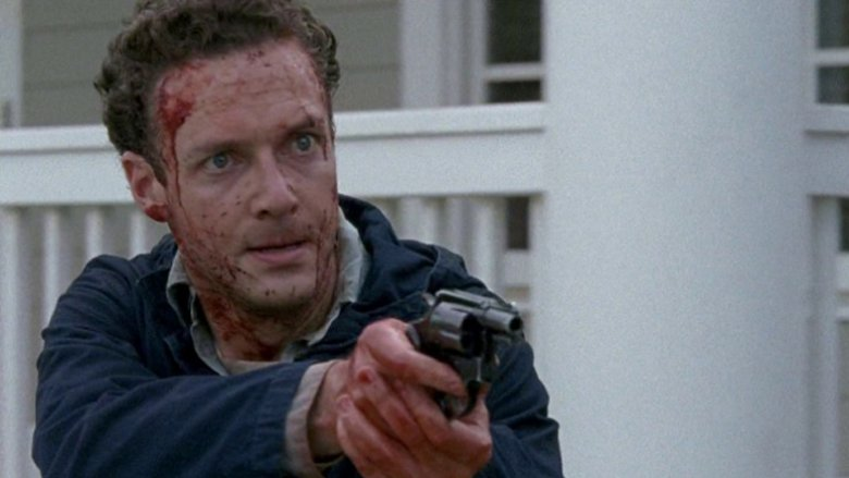Ross Marquand as Aaron on The Walking Dead