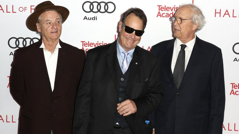 Bill Murray, Dan Ackroyd and Chevy Chase