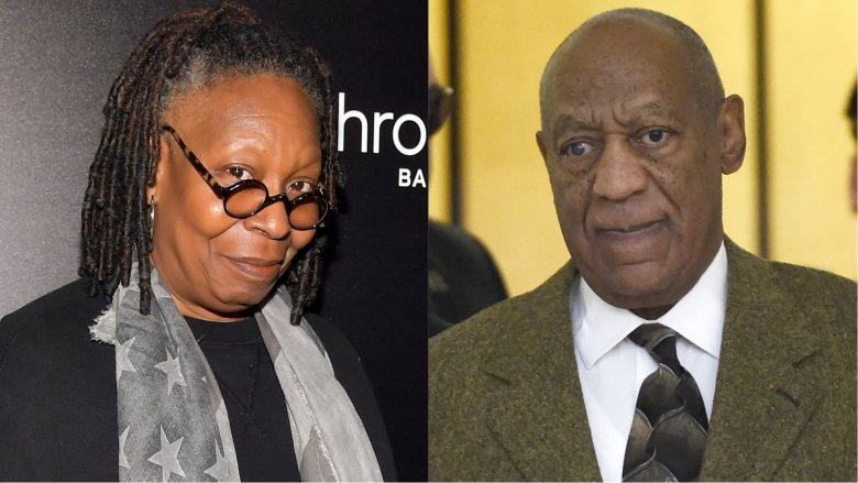 Whoopi Goldberg and Bill Cosby