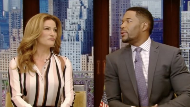 Ana Gasteyer and Michael Strahan