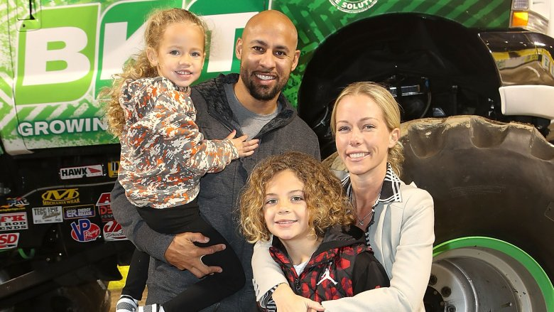 Hank Baskett, Kendra Wilkinson, and kids