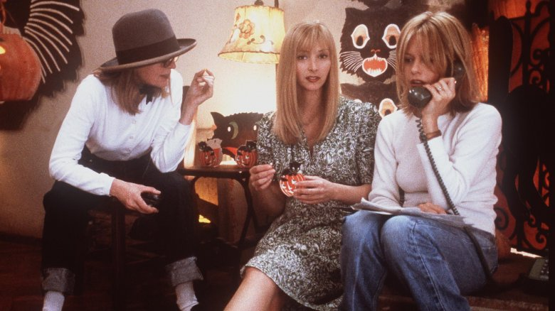 Diane Keaton, Lisa Kudrow, and Meg Ryan