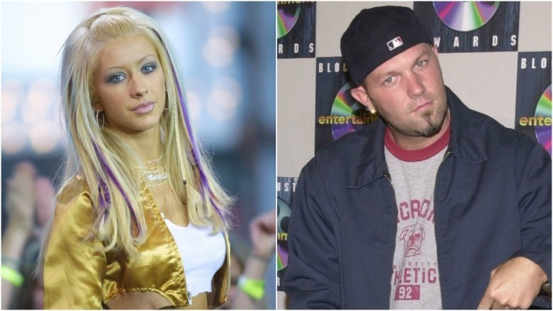 Christina Aguilera and Fred Durst