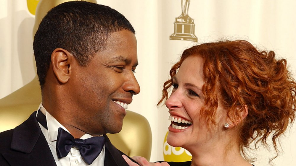 The reason Denzel Washington refused to kiss Julia Roberts in The Pelican Brief