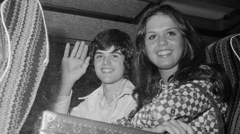 Marie Osmond with brother