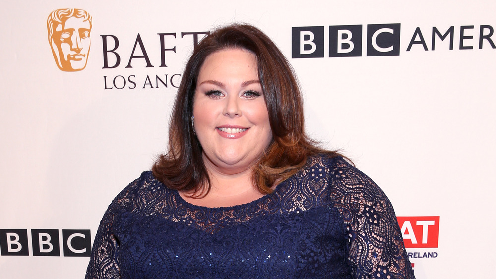 Chrissy Metz at a BAFTA event in 2017