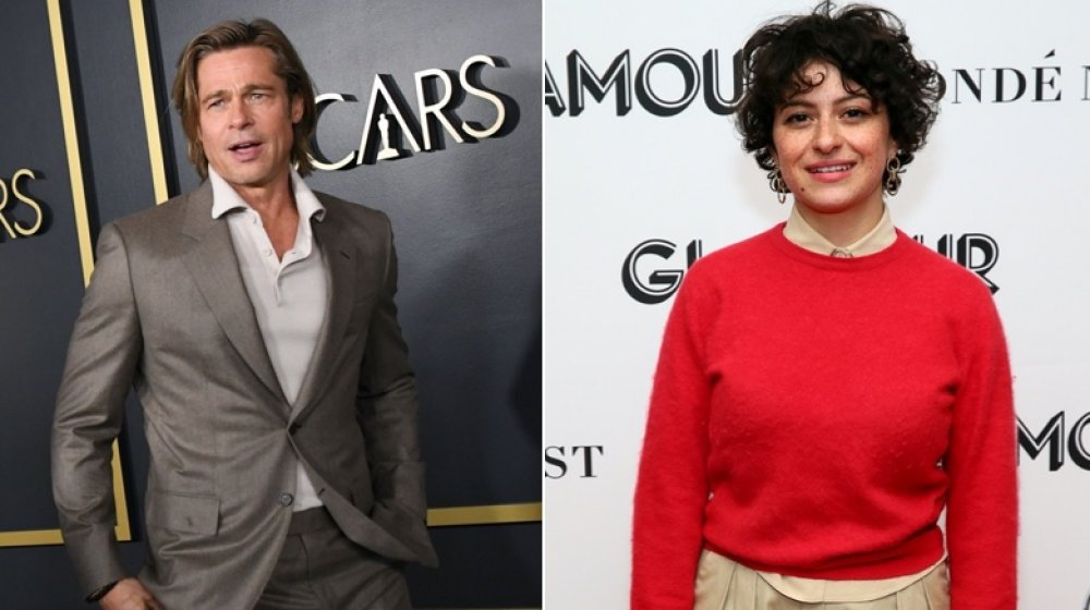 Actor Brad Pitt; Actress Alia Shawkat