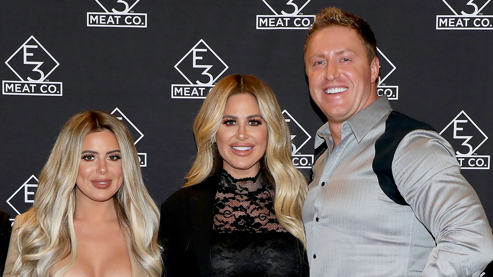 Brielle, Kim, and Kroy Biermann