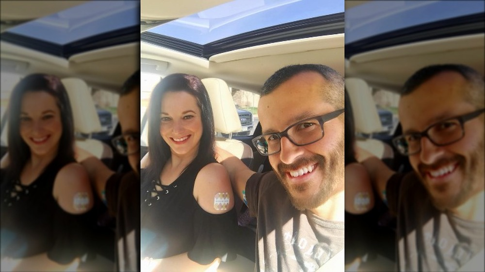 Shanann Watts and Chris Watts in a selfie from Facebook