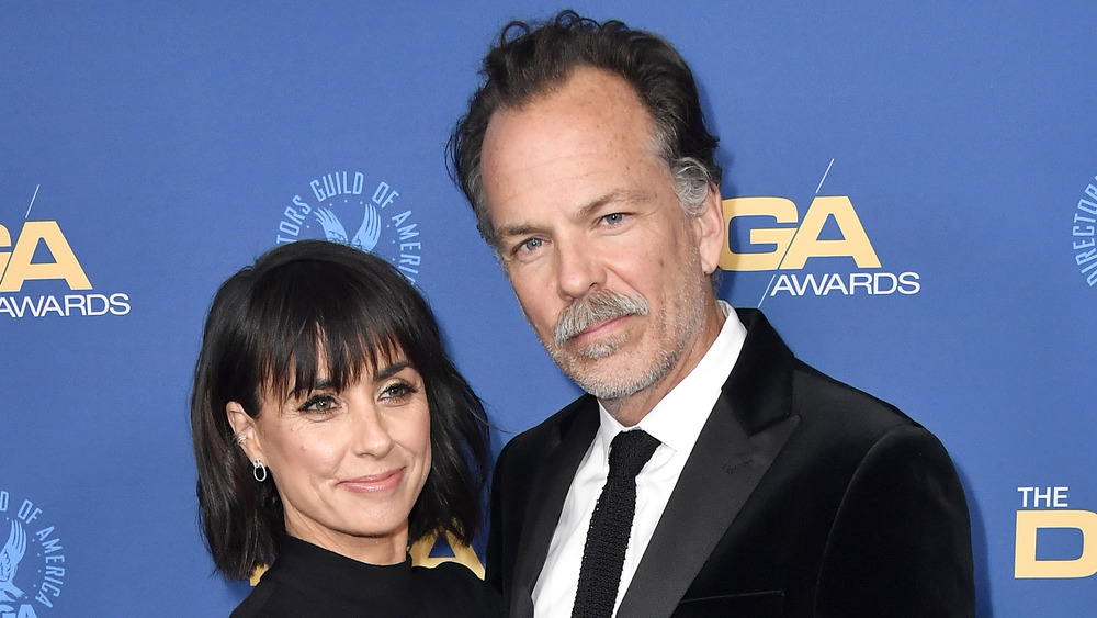 Russ Lamoureux and Constance Zimmer