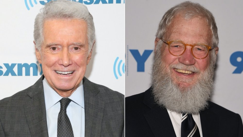 The Truth About Regis Philbin And David Letterman's Relationship