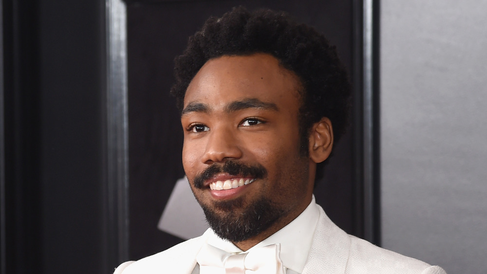 Donald Glover at the Grammy Awards