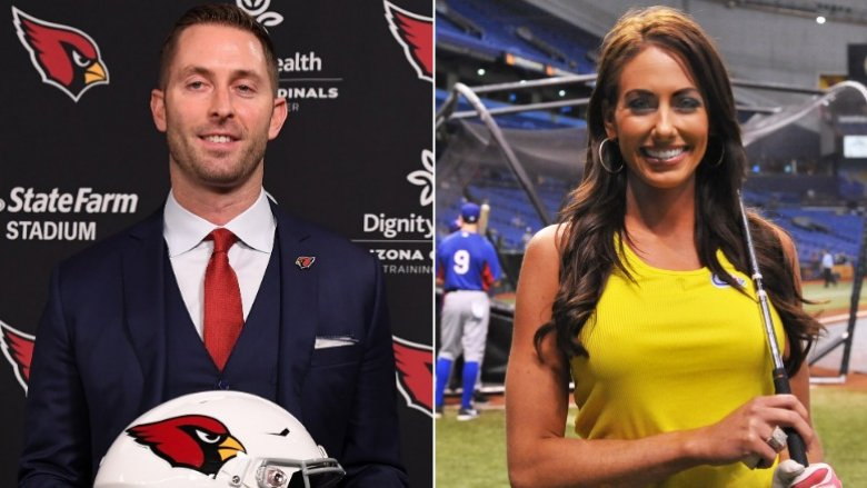Image result for kliff kingsbury holly sonders