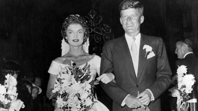 Jackie Kennedy Onassis and JFK